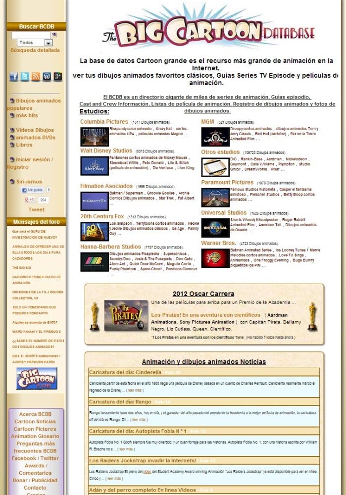 Bases de Datos Online de Cine (5/6)