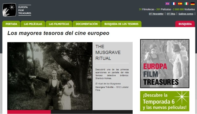 Portada de Europa Film Treasures