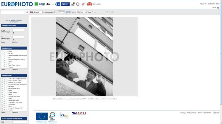 Página web de EuroPhoto