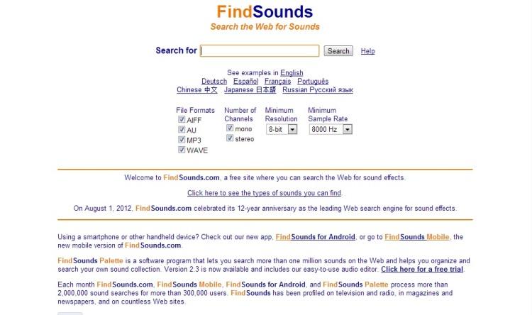 findsounds