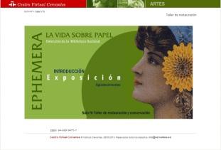 Ephemera: La vida sobre papel