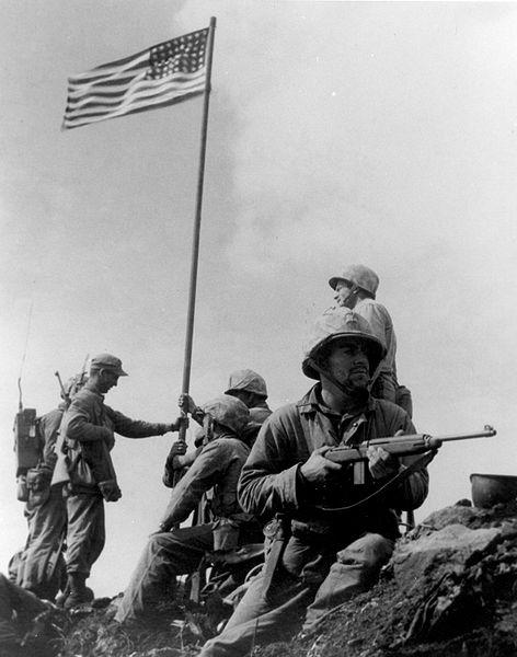 La bandera de Iwo Jima ©Lowery