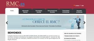 Página principal. RMC