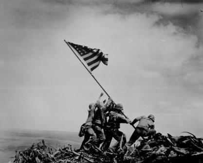 La bandera de Iwo Jima ©Rosenthal
