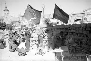 Barricada en Zocodover en 1936 (Toledo)