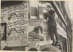 Campaña electoral de las elecciones de febrero de 1936 en España.