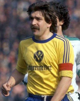 Bernd Gersdorff 1973, jugador del Eintrach
