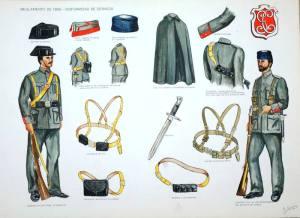 Evolución del uniforme de la Guardia Civil. ©TVE