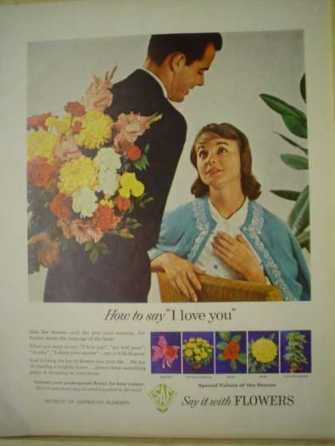 Campaña de la Asociación de Floristas Americanos de 1961