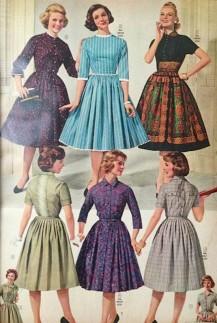 Página de una revista de venta por catálogo de los años 60