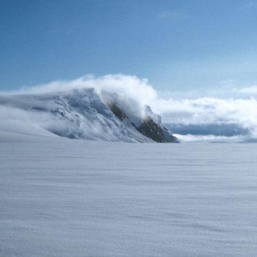 Lago Grímsvötn en el glaciar Vatnajökull