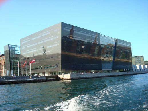 Edificio Black Diamond de Copenhague