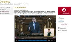 Canal parlamentario