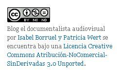 Licencias creative commons: El Documentalista Audiovisual