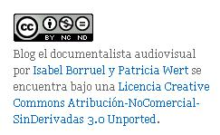 Licencias creative commons: El Documentalista Audiovisual