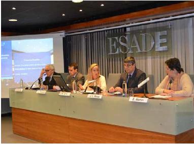 © Diario La Ley. Mesa redonda ESADE