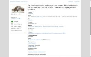 Resultado de búsqueda en Europeana