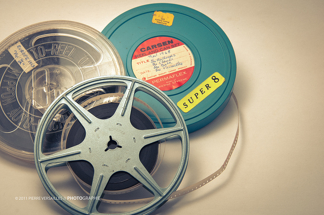 Películas de super 8. ©Pedro fait de la Photo (CC BY-SA 2.0)