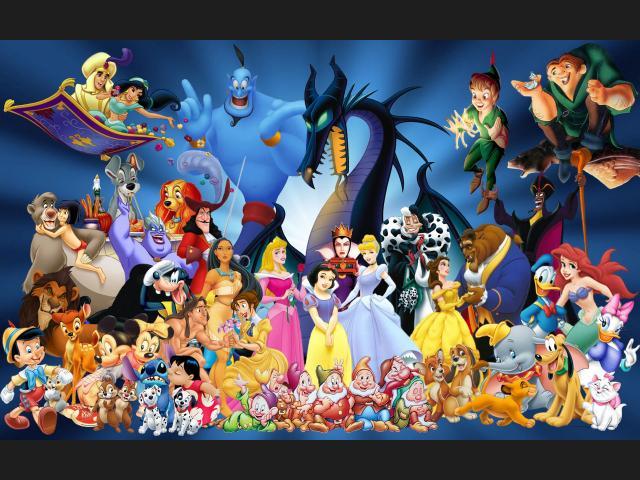 Protagonistas peliculas Disney