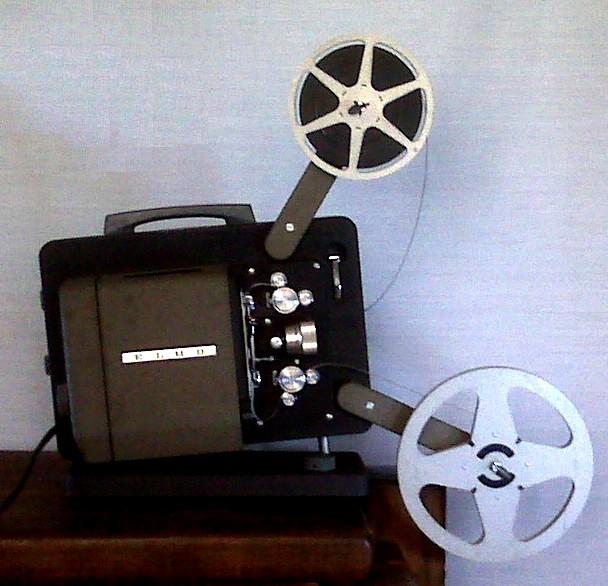 Proyector película. ©Veronidae [CC BY-SA 3.0]