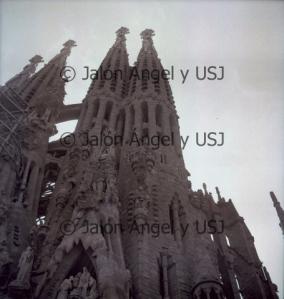Fotografía de la Sagrada Familia tomada por Jalón Ángel.