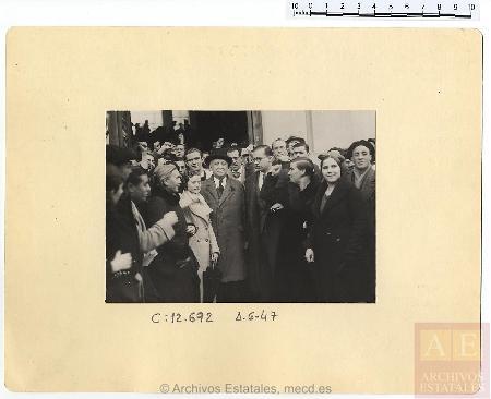 "Fondo Fotográfico del Ministerio de Propaganda ""Archivo Rojo"". AGA"
