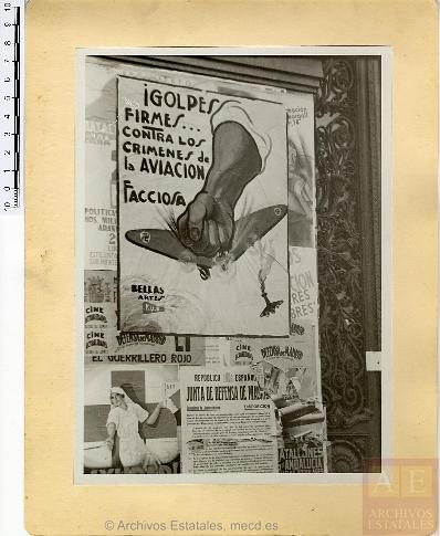 "Cartel. Baldomero hijo. Fondo Fotográfico del Ministerio de Propaganda ""Archivo Rojo"". AGA."